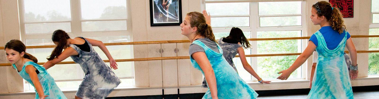Dance at Kid's Summer Arts Camp